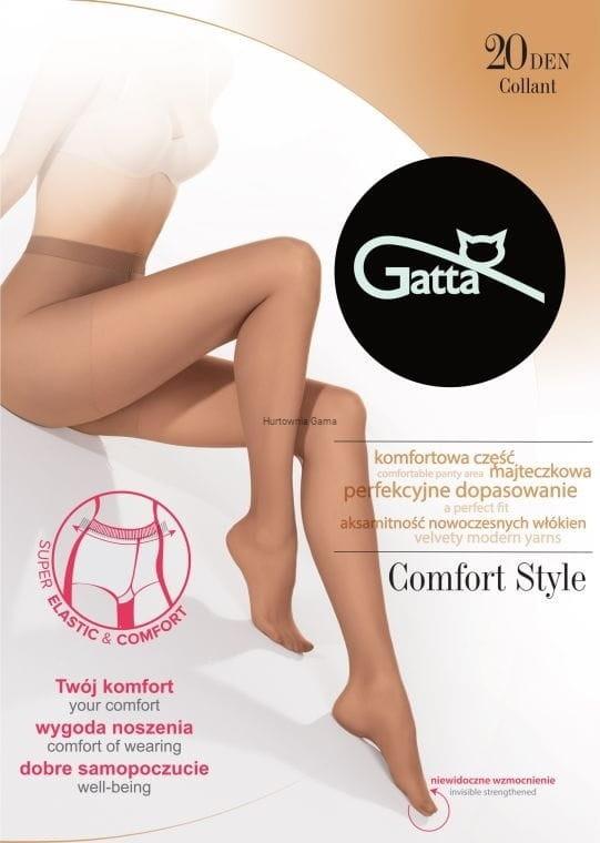 b6d7ca6d Rajstopy Gatta Comfort Style 20 den Matowe