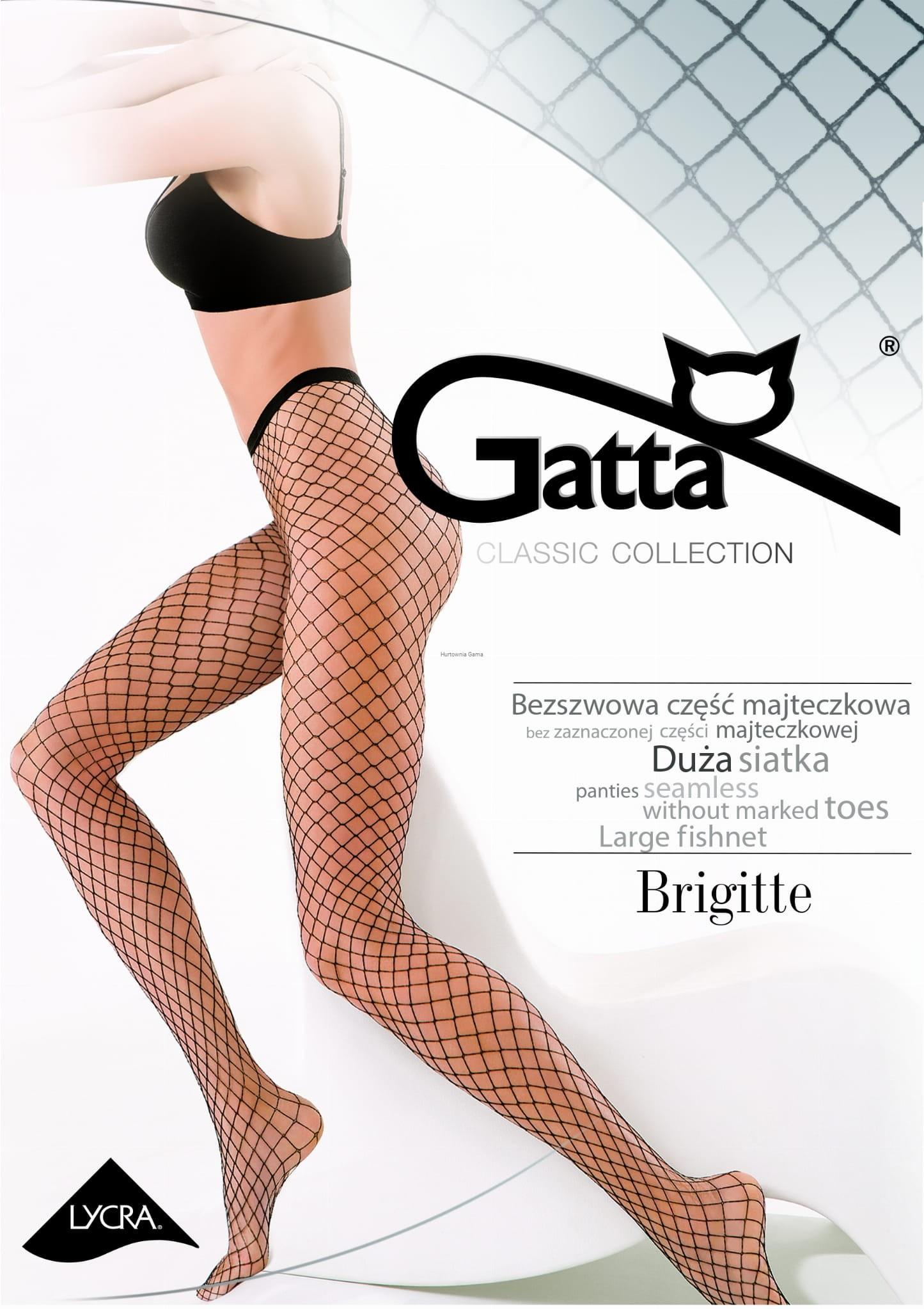 2f1dd661 Rajstopy Gatta Brigitte 05 kabaretki duże oczka