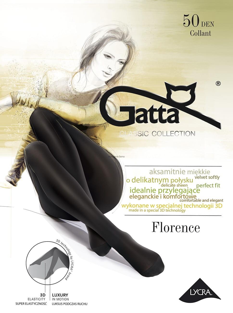 fdbcd317 Rajstopy Florence 3D Gatta 50 den