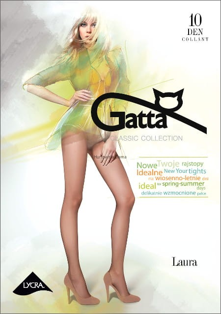 fd40e7a2885529 Rajstopy Gatta Laura 10 den lycra sklep internetowy GAMA - rajstopy ...