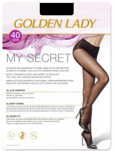 Golden Lady My Secret 40 den - rajstopy bezszwowe