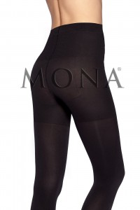 Rajstopy Mona Micro Push-Up 100 den Mikrofibra  S do XL