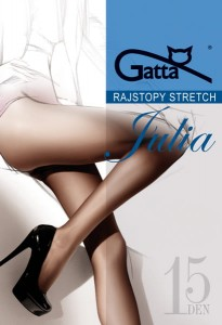 Rajstopy Julia Gatta Stretch 15 den