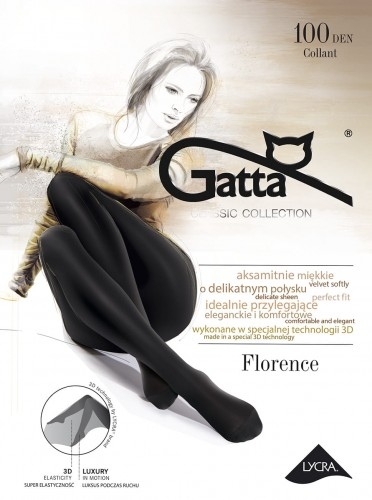 6438460e0d9187 Rajstopy Florence 3D Gatta 100 den mikrofibra sklep internetowy GAMA ...