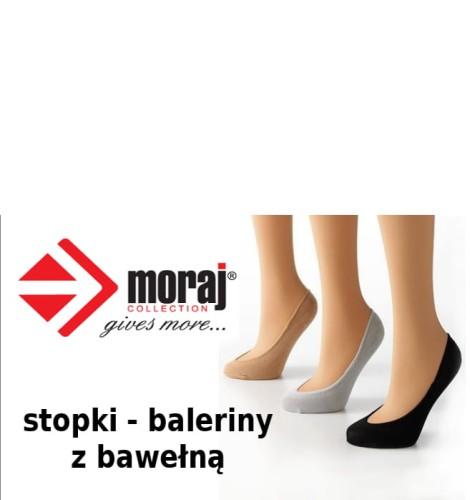 3cc8894b494ddc Skarpetki - stopki baleriny Moraj gładkie. balerinki-stopki -moraj-bawelna-gladkie.jpg